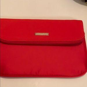 Giorgio ARMANI Clutch Bag Cosmetic Red